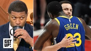 Download Jalen Rose shuts down talk of the Warriors being better without KD | Get Up! Video