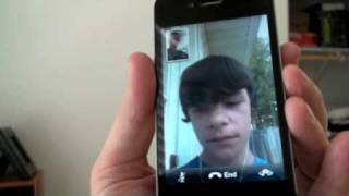 Download iPhone 4: FaceTime Demo Video