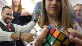 Download Shari's Rubik's Cube Delays Airplane Takeoff Video