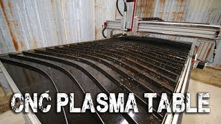 Download CNC Plasma Cutting Table Assembly and First Cut Video