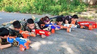 Download LTT Nerf War : SEAL X Warriors Nerf Guns Captain Fight Criminal Group Weapons Heavyweight Video