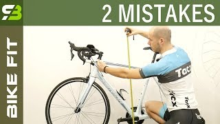 Download 2 Biggest Mistakes In Finding The OPTIMAL Bike Frame Size. Video