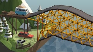 Download Using Basic Geometry to play Poly Bridge Video