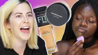 Download Women Try Amazon's Top-Rated Foundations Video