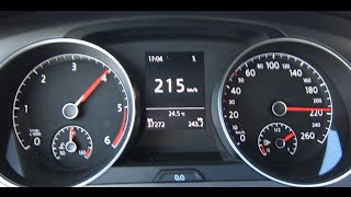 Download VW Golf 7 1.6 TDI Top Speed   2013 Model Video