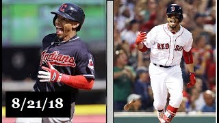 Download Cleveland Indians vs Boston Red Sox Highlights    August 21, 2018 Video