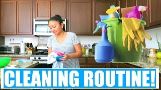 Download MY WEEKLY CLEANING ROUTINE! Video