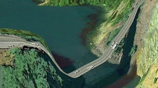 Download 10 roads you would never want to drive on! Video