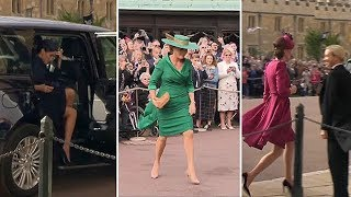Download Fashion verdict: Royal outfits at Princess Eugenie's wedding Video