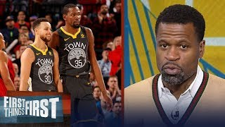Download Stephen Jackson on why Curry is GSW's most important but KD is the best player | FIRST THINGS FIRST Video