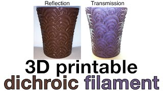Download 3D Printed Dichroic Nanocomposite (Lycurgus cup) Video