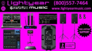 Download Karaoke Machine Professional Laptop Karaoke System 2200 Watts Lightyearmusic (800)557-7464 Video