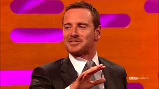 Download Jessica Chastain Tricks Michael Fassbender Into Breakdancing - The Graham Norton Show Video