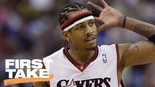Download Kyrie Irving Doesn't Compare To Allen Iverson | First Take | June 15, 2017 Video