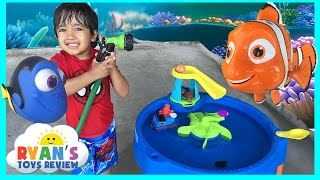 Download Disney Pixar Finding Dory Swim & Water Table Step 2 Video