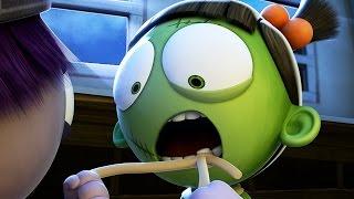 Download Funny Animated Cartoon | Spookiz Wiggle Wiggle Frankenstein Girl's Tooth | 스푸키즈 | Cartoon for Kids Video