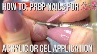 Download How to Prep Nails for Acrylic or Gel Application - Salon Style Video