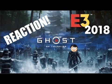 Ghost of Tsushima E3-2018 Gameplay Reaction!