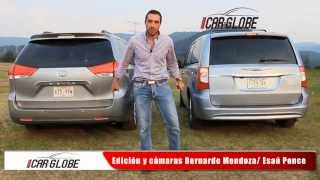 Download Minivans (Toyota Sienna y Town & Country Tanya Moss) Car-Globe Video