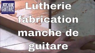 Download Fabrication d'un manche de guitare électrique - Projet Spartan #5 - Luthier Mikaël Springer Video