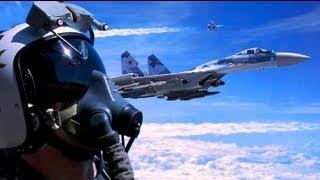 Download SU35 vs F22 RAPTOR vs EUROFIGHTER Video
