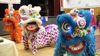 Download Lion Dance Calgary 2013 at Woodman Junior High School Video