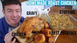 Download How to make a roast dinner #2 | Roast Chicken Video