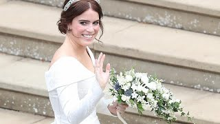 Download In pictures: Princess Eugenie weds in royal fanfare Video