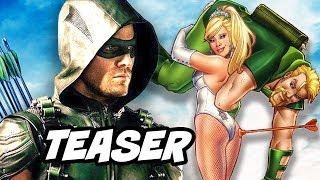 Download Arrow Season 5 Episode 8 100th Green Arrow Black Canary Wedding Teaser Breakdown Video