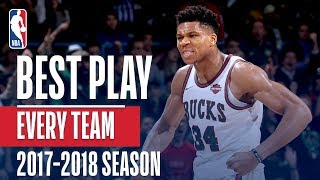 Download Best Play From Every Team: 2017-2018 Season Video