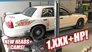 Download Our Retired Cop Car Made 1,000 HORSEPOWER!!! (Boost and Nitrous GT500!) Video