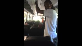 Download Crazy Greyhound Bus Driver PMSing Video