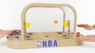 Download How To Build Basketball Board Game for 2 Players Video