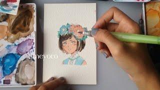 Download Flower Crown Speedpaint Video