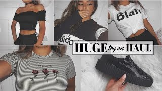 Download HUGE TRY ON CLOTHING HAUL | 2017 Video