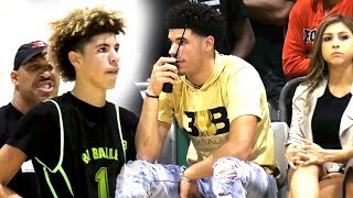 Download Lavar Told Melo Stop Being STUPID! LaMelo Drops 45 w/ 39 Shots VS College Bound Athletes! Video