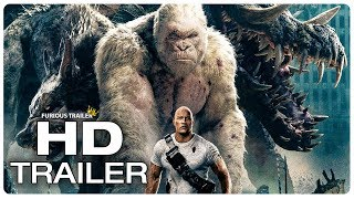 Download RAMPAGE Movie Clip George vs Giant Crocodile (2018) Dwayne Johnson Monster Movie Trailer HD Video