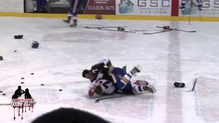 Download Brawl in Warmups Laval vs St George LNAH January 11 2015 Video