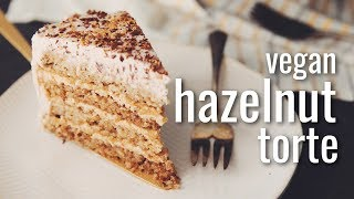 Download VEGAN HAZELNUT TORTE | hot for food Video