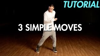 Download 3 Simple Dance Moves for Beginners (Hip Hop Dance Moves Tutorial) | Mihran Kirakosian Video