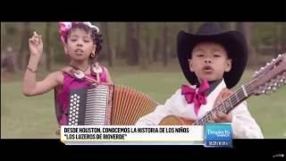 Download Laura Sierra entrevista a los ″Luzeros de Rioverde″ para Despierta América Video