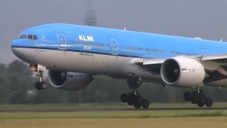 Download HEAVIES only! Plane spotting at Schiphol | 20+ heavy planes landing and takeoff! Video