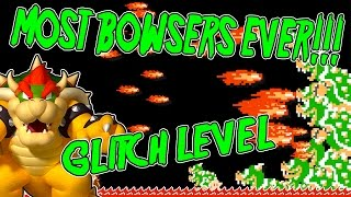 Download MOST BOWSERS EVER! | Mario Maker GLITCH Level | Living City by PSYCROW Video