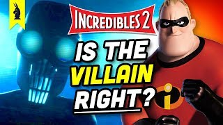 Download The Philosophy of Incredibles 2: Why Screenslaver is RIGHT – Wisecrack Quick Take Video