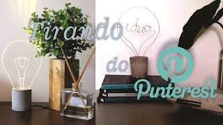 Download DIY - Tirando do Pinterest - Decoração industrial/ MMDDQ Video