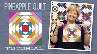 Download Make a Pineapple Quilt with Jenny Doan of Missouri Star! (Video Tutorial) Video