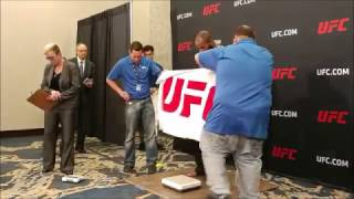 Download UFC 210 Weigh In Highlights Video