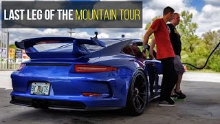 Download GT3 Mountain Tour Ends on the Cherohala Skyway Video