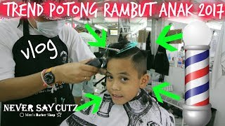 Download VLOG TREND POTONG RAMBUT ANAK 2017 | TheRempongsHD Video