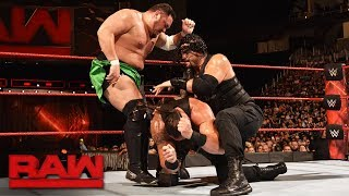 Download Roman Reigns vs. Braun Strowman vs. Samoa Joe - Triple Threat Match: Raw, July 31, 2017 Video